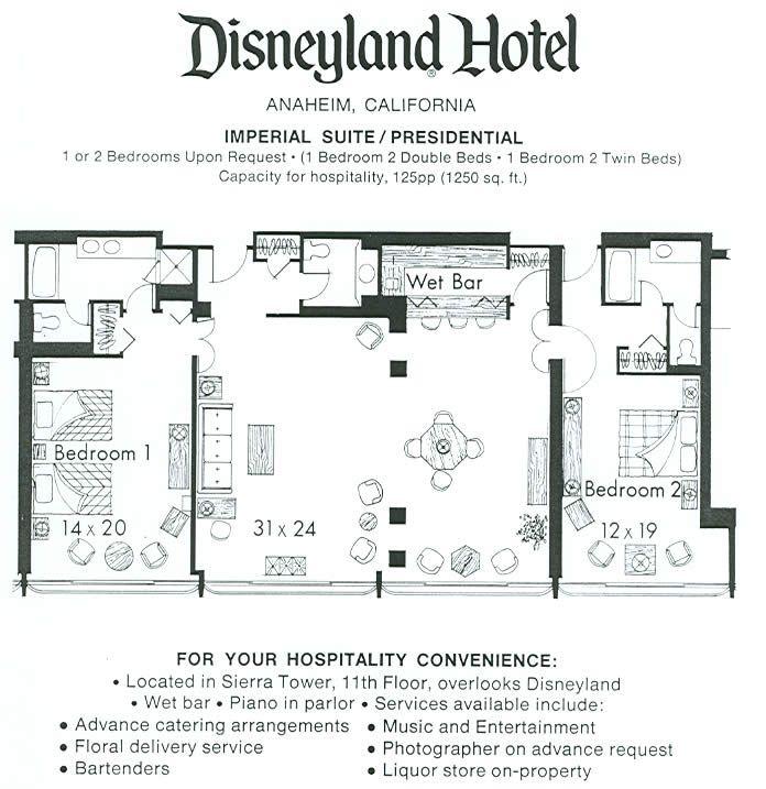 Grand californian 3 bedroom suite rental joy studio Disney grand californian 2 bedroom suite