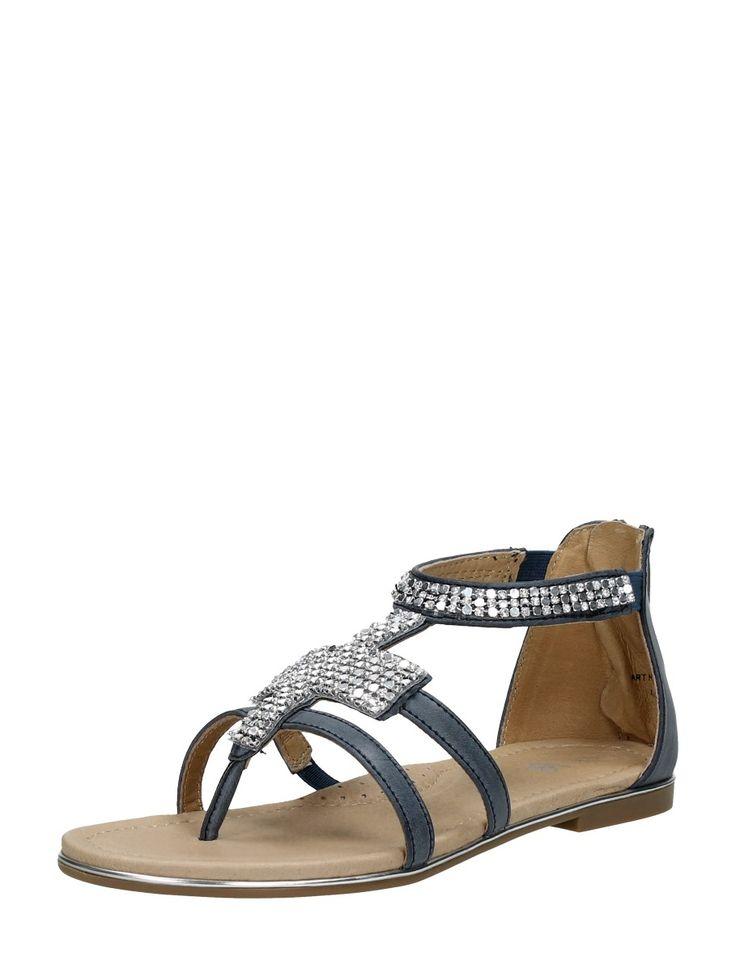 Platte meiden sandaal little david