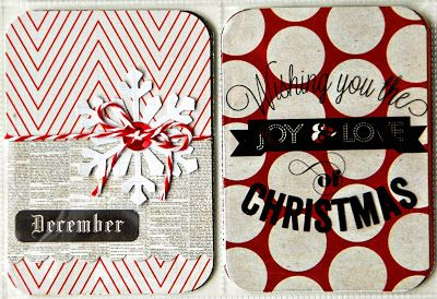 Santa's List by Theresa Collins. Love this paper line!!!