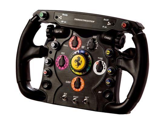 Prezzi, offerte e recensioni per Thrustmaster Ferrari F1. Thrustmaster Ferrari F1 è un volante da console molto ben fatto: è solido, realistico e offre un controllo di livello superiore. È un po' pesante e costoso, ma se siete gamer seri non potete farvelo scappare.
