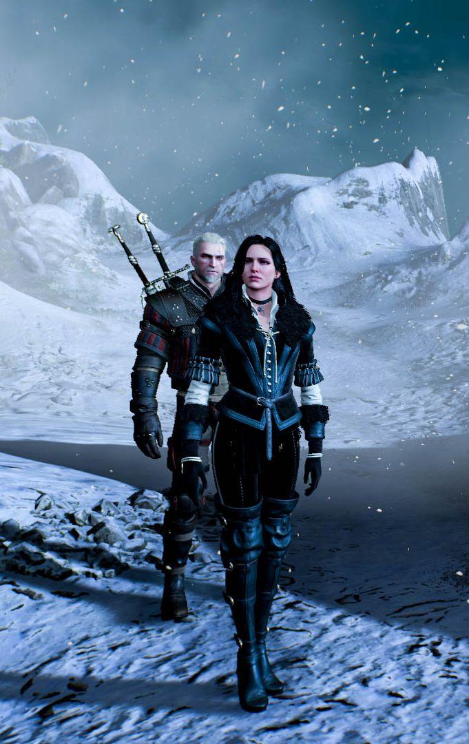 One nice screenshot! Geralt & Yen