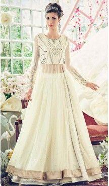 Off White Color Net Abaya Style Designer Churidar Kameez   FH499776468 #heenastyle , #salwar , #kameez , #suits , #anarkali , #party, #wear , #panjabi , #patiyala , #abaya , #style , #indian , #fashion , #designer , #bridel , #evening , #formal , #office , #deaily , #dupatta , #churidar , #palazo , #plazzo , #nerrow , #pant , #dress , #dresses , #fashion , #boutique , #mode , #henna , @heenastyle , #latest , #gowns , #pakistani , #readymade , #stitched , #plus , #size , #islamic