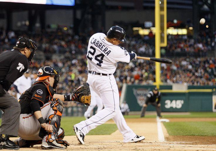 detroit tigers | Detroit, MI - SEPTEMBER 23: Miguel Cabrera #24 of the Detroit Tigers ...