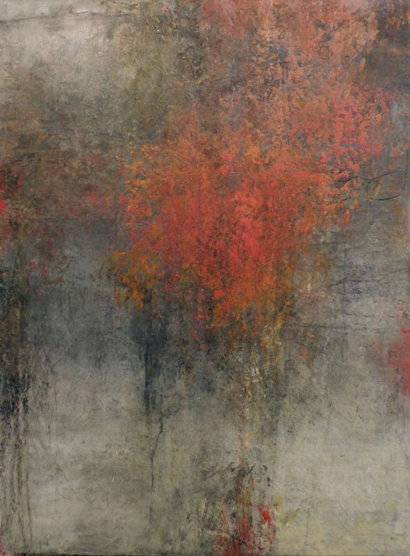 REBECCA CROWELL ART View contemporary abstract mixed-media paintings by artist Rebecca Crowell at Thomas Deans Fine Art, gallery in Atlanta Georgia