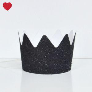Zwarte-glitter-kroontjes