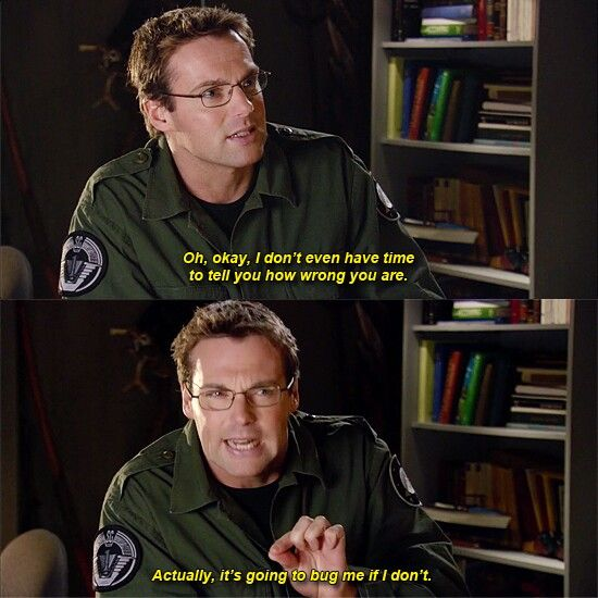 Michael Shanks as Dr. Daniel Jackson. <<<which episode is this?