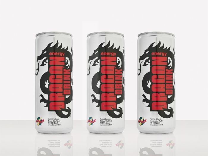 Drinks of the World, Dragon Drink – Packaging Design