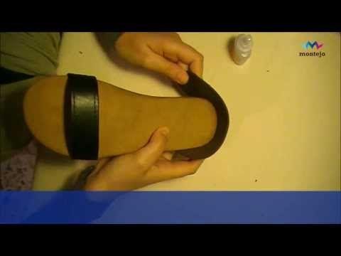 Como hacer tus propias sandalias de yute y cuero. CALZACREA - YouTube