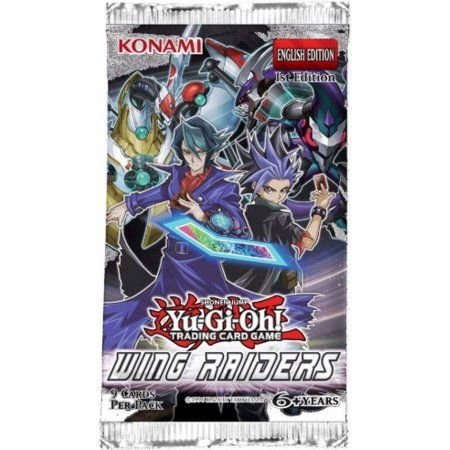 Konami Yugioh Wing Raiders Blister