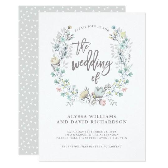 watercolor wedding cards