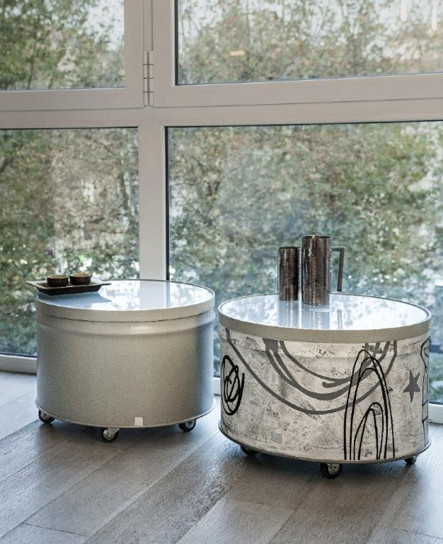 Barrel 12 - pouf inspirations #recycling #interior #design #barrel