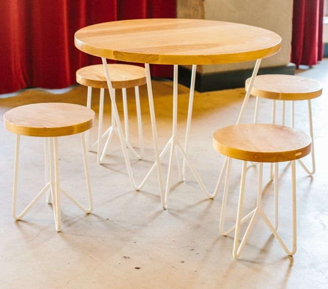 Yeah Rentals Cafe Table & Stools