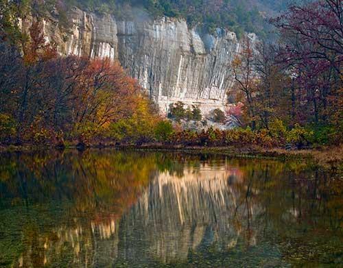 The Buffalo River near Steele Creek - Arkansas
