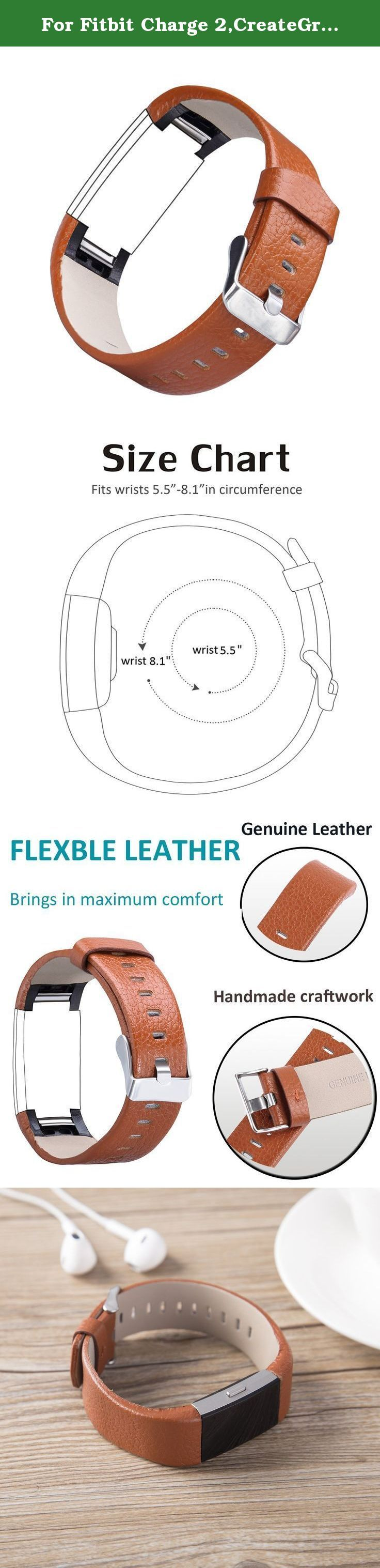 For Fitbit Charge 2,CreateGreat Leather Replacement Band for Charge 2 /Charge 2 Fitbit/Fitbit Charge 2. for fitbit charge 2 /fitbit charge 2 bands /charge 2 /fitbit replacement bands /fitbit charge 2 band /charge 2 bands /fitbit wristband /fitbit watch /charge bands /fitbit charge 2 heart rate /fitbit charge 2 large /charge 2 fit bit /fitbit charge 2 replacement bands /fitbit charge 2 small /charge 2 bands small /fitbit charge 2 wristband /fitbit charge 2 bands small /charge 2 wristband...