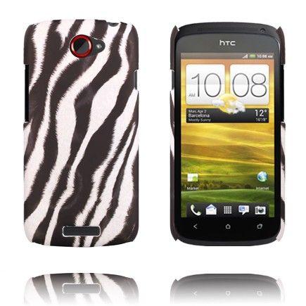 Zebra Fashion (Diagonal) HTC One S Deksel