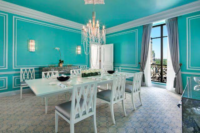 Tiffany Suite, St. Regis Hotel, NYC