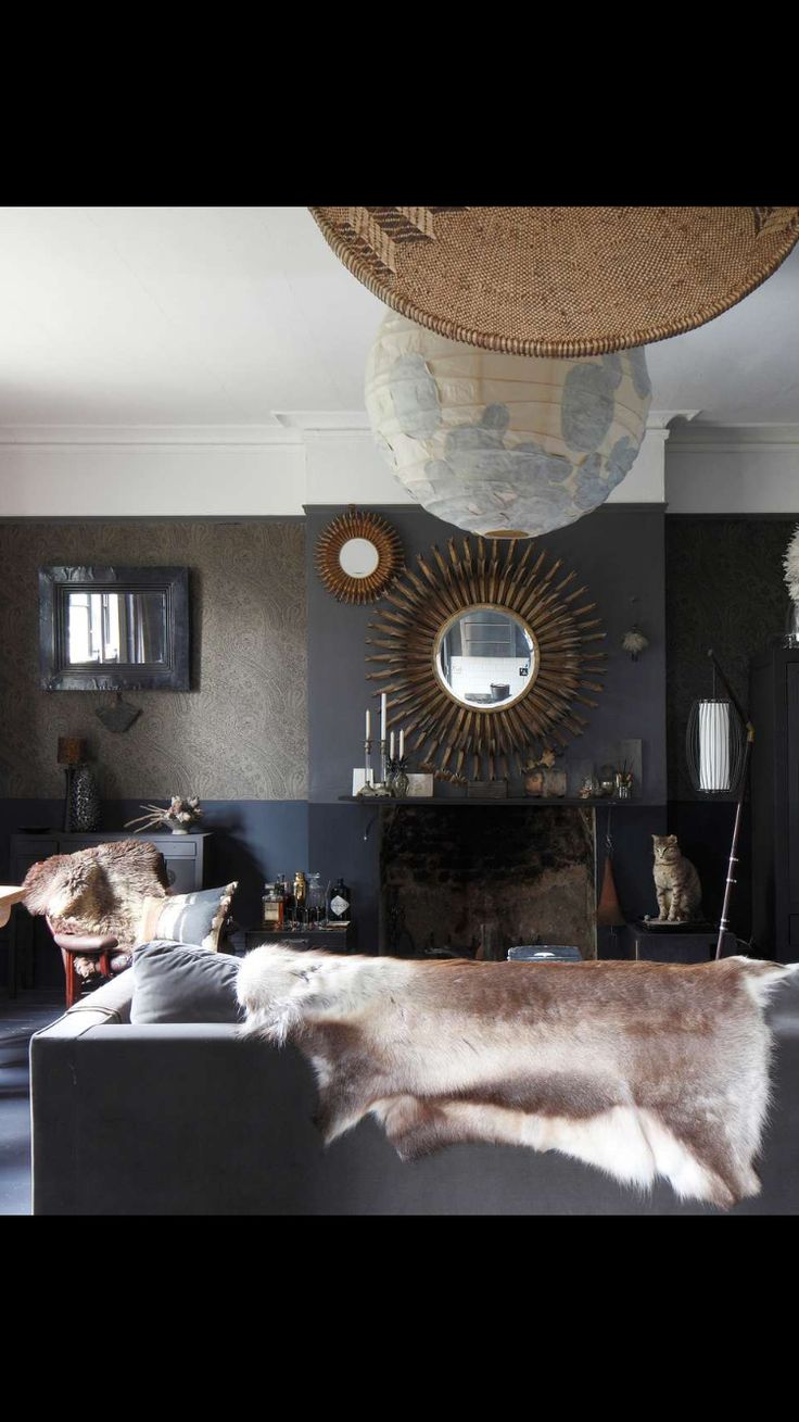 Lounge Decor Images Part - 40: Shades Of Grey: A Chic South London Flat - On A Tight Budget