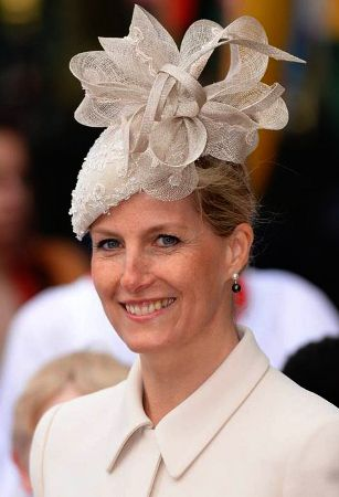 Countess of Wessex, March 10, 2014 in Jane Taylor | The Royal Hats Blog