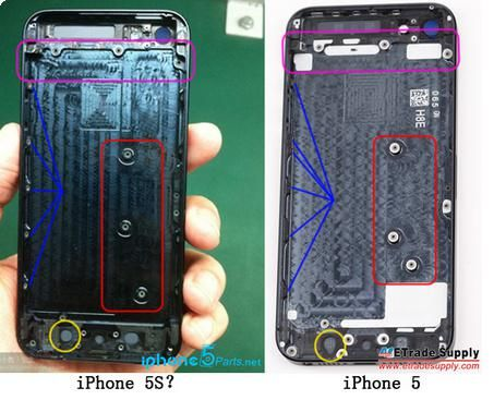 Surgem possiveis imagens do iPhone 5S