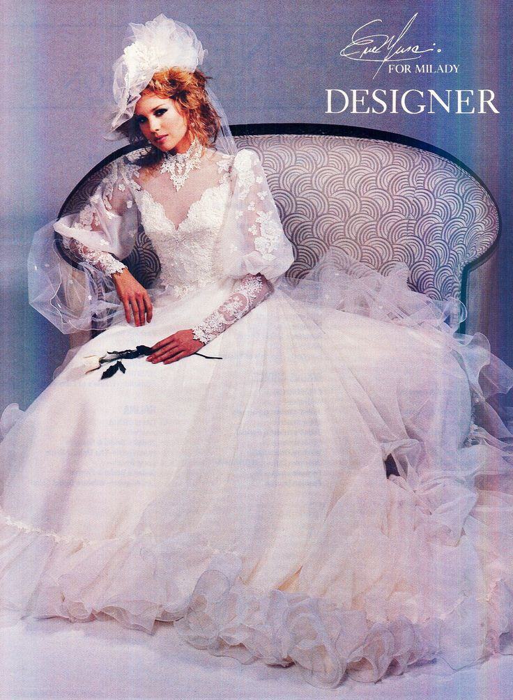 64 best 80s wedding dresses images on pinterest bridal dresses 1983 junglespirit Choice Image