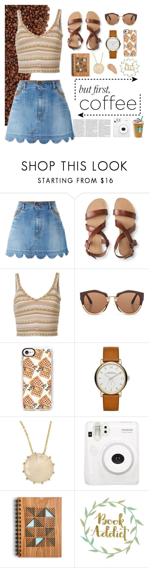 """""""don't give a frapp"""" by wondrousbeing on Polyvore featuring Victoria Beckham, RED Valentino, Aéropostale, Alice + Olivia, Marni, Casetify, Marc by Marc Jacobs, Suzanne Kalan and Shiseido"""