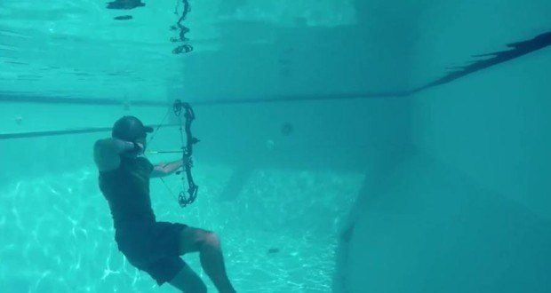 Underwater Archery: It's a Thing, and It's Awesome