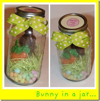 bunny in a jar