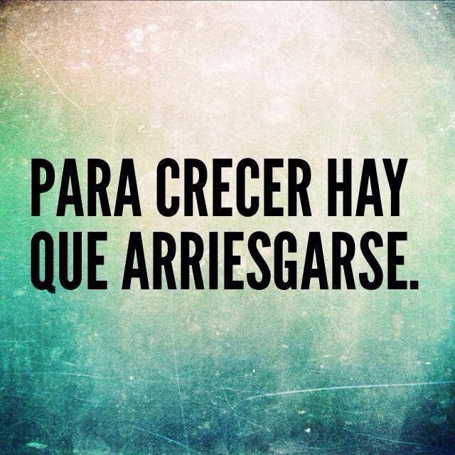 Hay que arriesgarse! #frases #arriesgarse