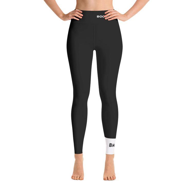 BOOMSKIZ Yoga Pants - Black Made in USA