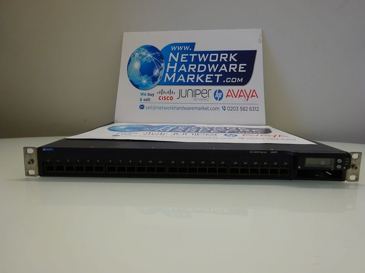 Juniper EX4200-24F layer 3 switch - 24 ports.  Price: £1,599.99 Condition: Seller ‪#‎refurbished‬. Fully tested. Dual AC Power supplies. All ports tested. Quick shipping worldwide. To buy: http://www.networkhardwaremarket.com/buy-refurbished-juniper-router/
