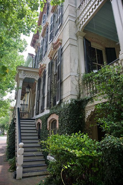 Historic Savannah Architecture