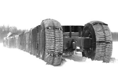 Alaskan Land Train
