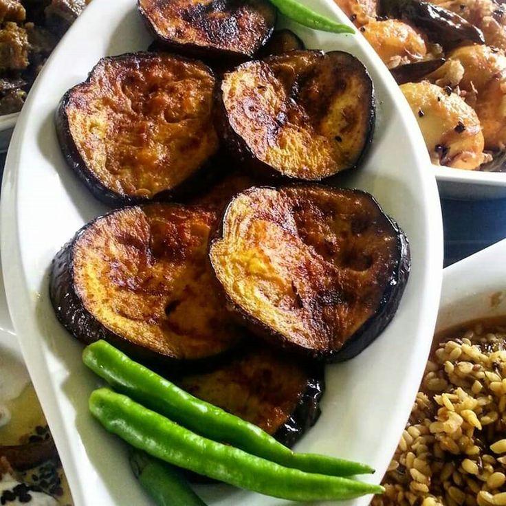 Bangladeshi dish begun (bingal)varta