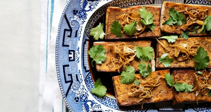 Ginger-Garlic Tofu | Recipe | Tofu, Tofu Recipes and Vegans