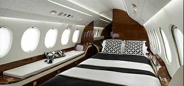 Falcon 8x Interior Jets Luxury Private Jets