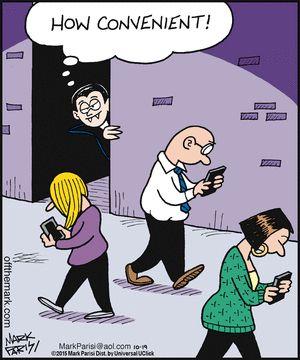 off the mark how convenient technology humorhalloween - Halloween Humor Jokes