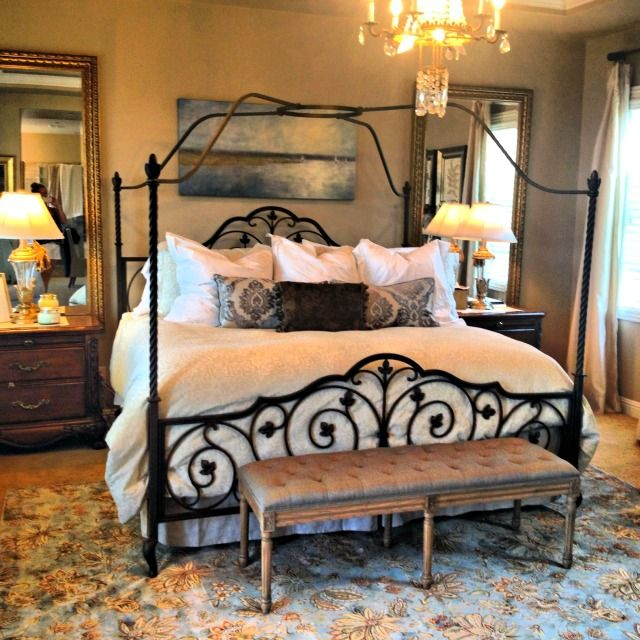 Decorating on a dime a peaceful bedroom peaceful for Peaceful bedroom designs