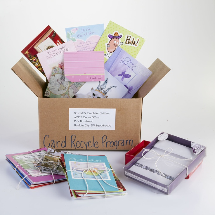 St. Jude's Ranch For Children Recycled Card Program