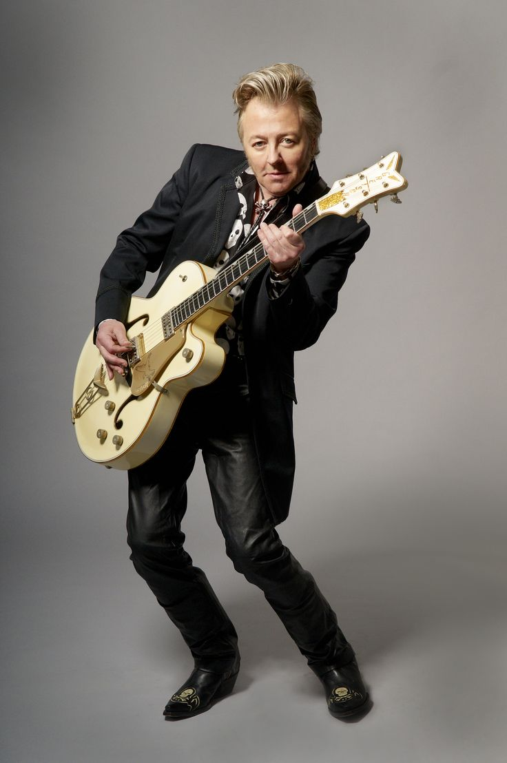 the gretsch guitar once again is profiled w/ the help of Brian Setzer: Modern Gretsch Guitars: The Gretsch Pages