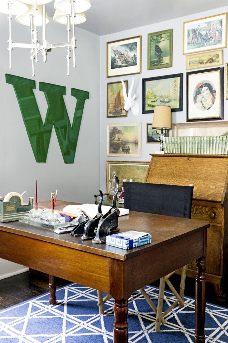 Broeinrichtungen Home Office Ideen Stilvoll Dunkle Mbel. Moderne ...