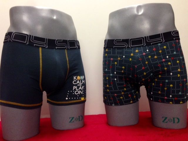 Pack Boxer Soy Underwear modelo Pac Man
