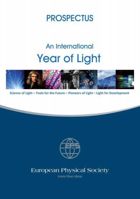 International Year of Light 2015 - Prospectus