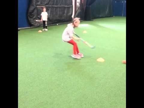 CCYFH defensive field hockey drill - YouTube