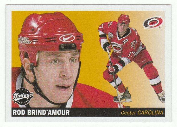Rod Brind'Amour # 46 - 2002-03 Upper Deck Vintage Hockey