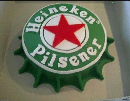 Heineken taart / Demi's Cupcakes & Taarten