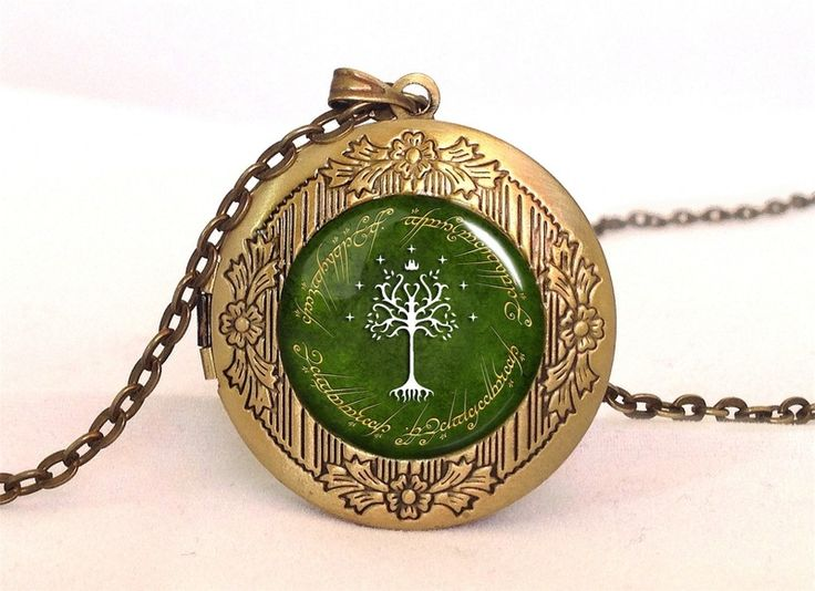Lord of the Rings, TREE OF GONDOR Locket, 0529LPB from EgginEgg by DaWanda.com