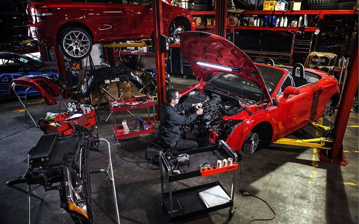 Audi TT big build project for SEMA 2014 almost complete!