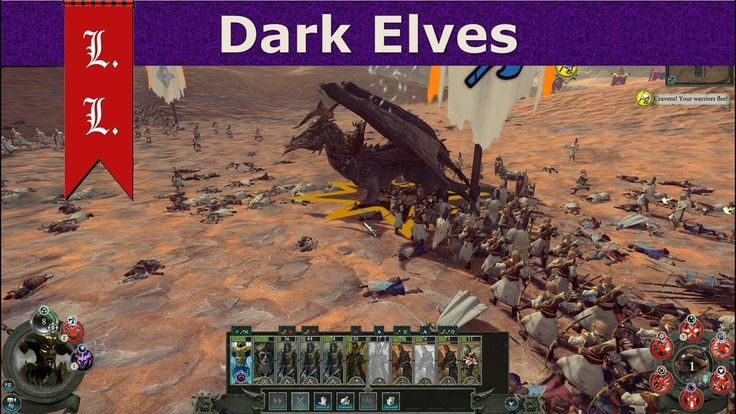 Warhammer II Total War - Online Battle - 4FFA Dark Elves (17)