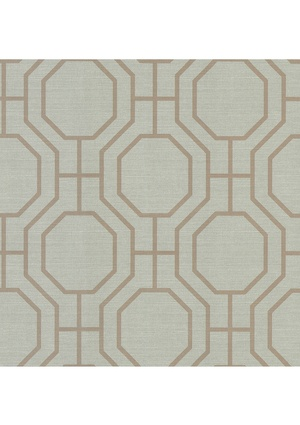 BREWSTER HOME FASHIONS Madison Pre-Pasted Geometric Wallpaper