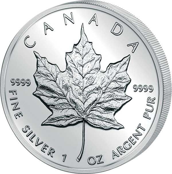 Canadian Silber Maple Leaf